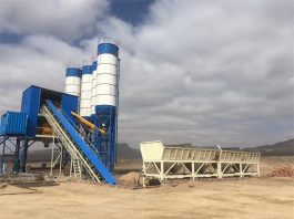 Camelway introduces concrete batching plant in Fiji