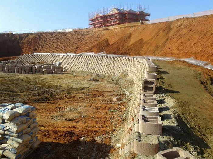 Fibertex - Secugrid geosynthetic geogrid reinforcement for