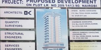 Proposed commercial and offices development