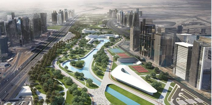 Construction of the Green River project of Egypt commence