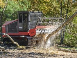 Fecon introduces FTX300 mulching tractor with more power, cab upgrades