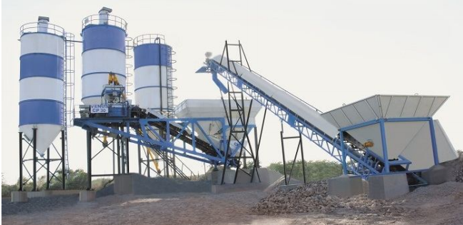 Camelway small concrete batching plant - 25m³/h concrete batching plant