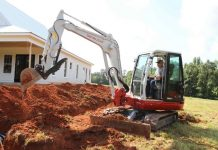 Takeuchi launches TB250-2 compact excavator
