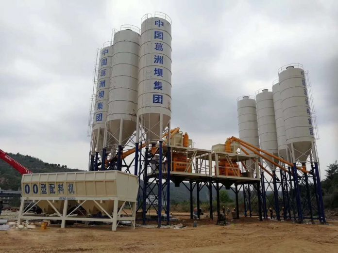 Different types of concrete batching plant