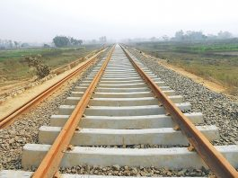 Construction of Dar-Moro SGR in Tanzania at 46%