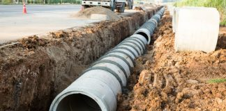 water pipelines construction in Africa