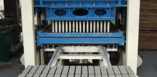 Proper maintenance of brick and block making machine