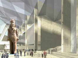 Grant Egyptian Museum nears completion