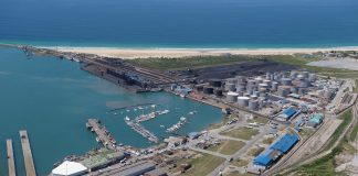 Construction of new Ngqura liquid bulk terminal in South Africa begins