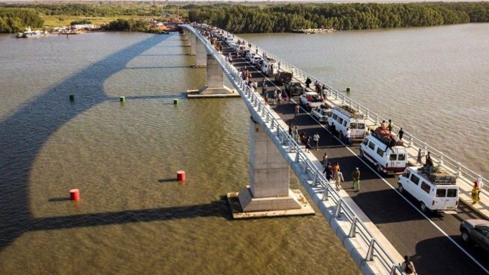 Senegal inaugurates the new Senegambia bridge
