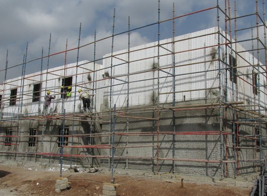 Emmedue advanced building system in Africa