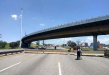 Construction of Stanford Road bridge in South Africa nears completion