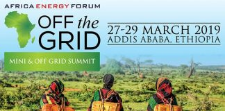 3rd edition of theAfrica Energy Forum: Off the Grid