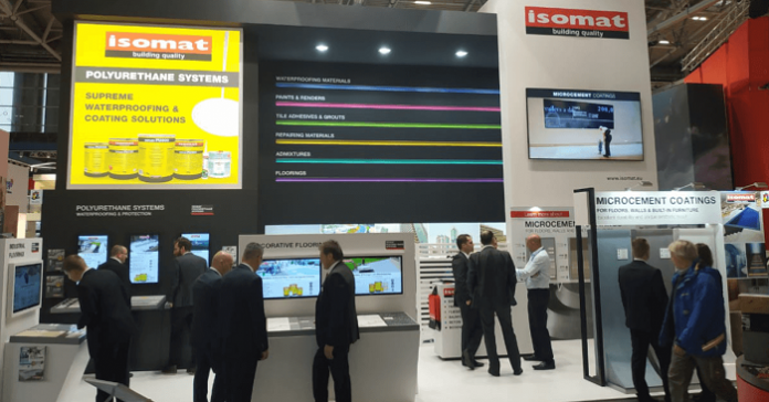 ISOMAT participated with great success at the BAU 2019 International Exhibition