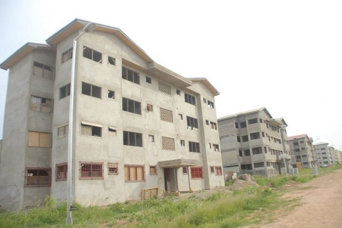 Ghana sets aside US $51m for abandoned housing projects