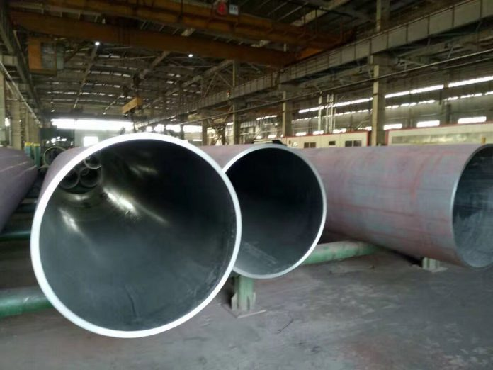 Hardenability of stainless steel seamless pipe