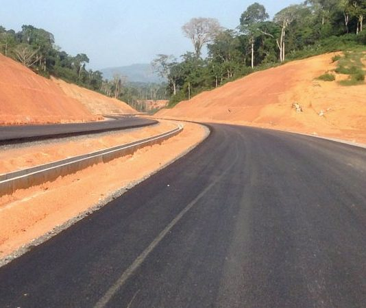 Construction of Yaounde-Douala Expressway in Cameroon advances