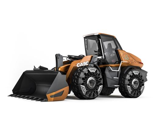 CASE unveils the world's first methane-powered construction vehicle at bauma 2019
