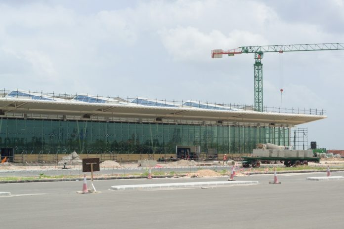 Construction of JNIA terminal 3 in Tanzania nears completion