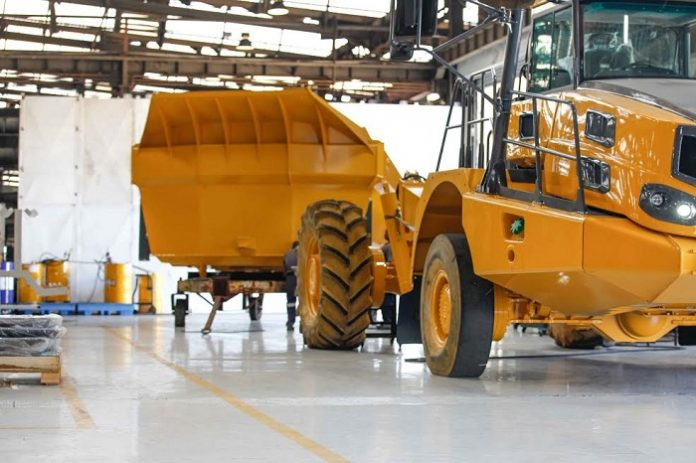 Flowcrete South Africa provides world class flooring for Bell Equipment Global