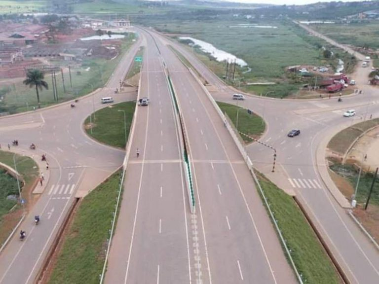 Construction of Kampala-Entebbe Expressway nears completion