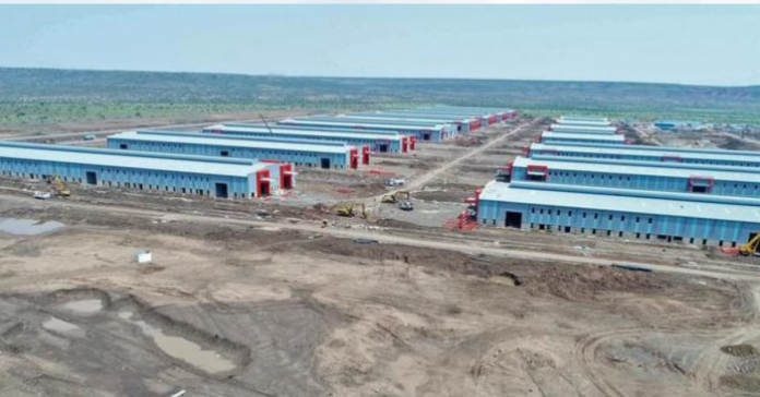 Construction of Ethiopia's Dire Dawa Industrial Park nears completion.