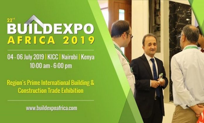 Industry leaders converge in Nairobi for the 22nd Buildexpo Kenya 2019 at KICC