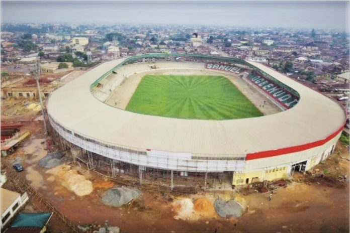 Reconstruction of Ogbemudia Stadium in Nigeria at advanced stage