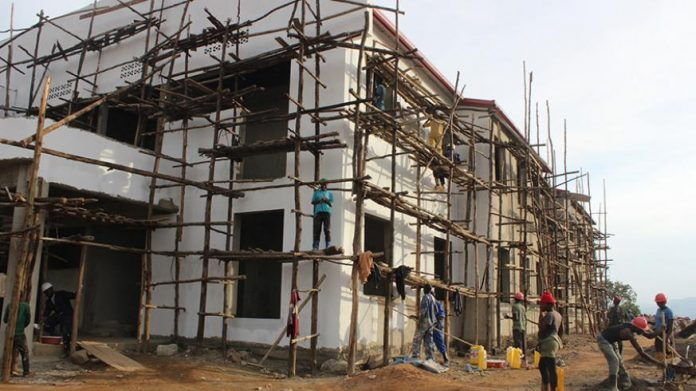 Headquarters construction in Uganda