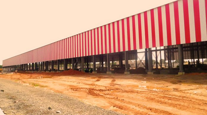 Construction of largest steel plant in West Africa complete