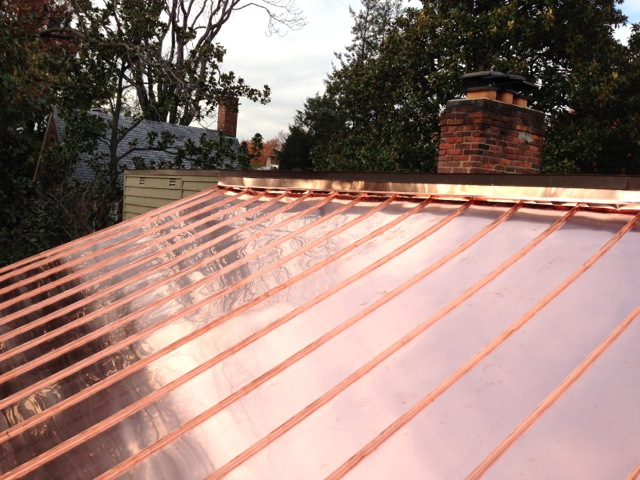 Advantages of copper roofing