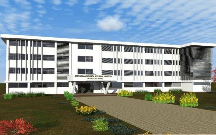 Kenya begins construction US $2.3m maternity hospital in Bungoma