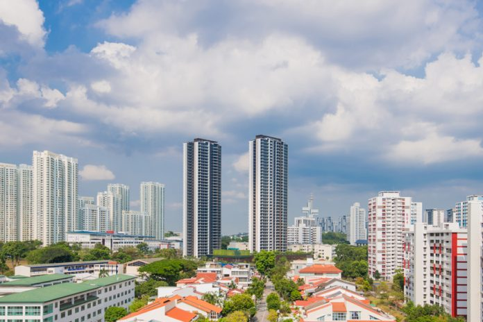 Construction of world's tallest modular building complete