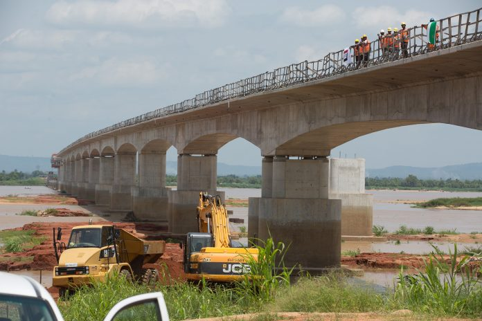 Construction of the Second Niger Bridge project in Nigeria on track