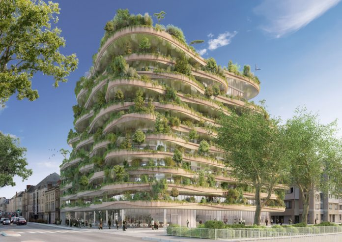 first-ever vertical forest project