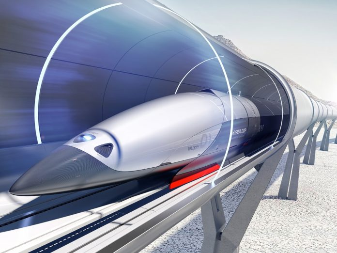 world's first hyperloop