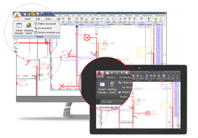 ArCADia BIM and AutoCAD® software
