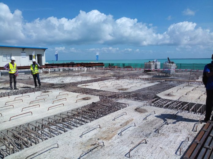 LAPSSET's first berth at Lamu port