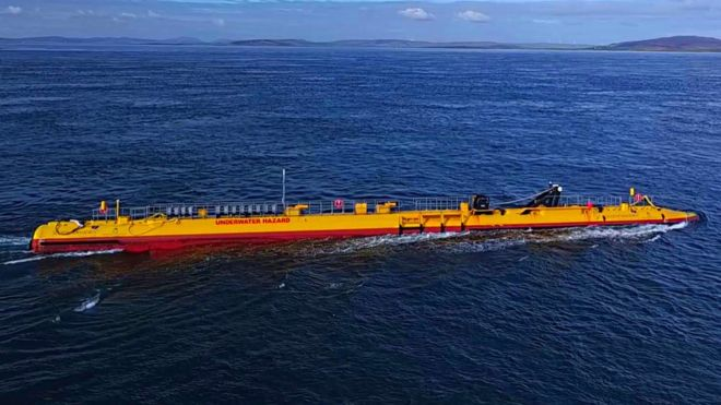 world's most powerful floating tidal turbine