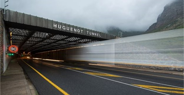 Upgrade works on Huguenot Tunnel in South Africa on track