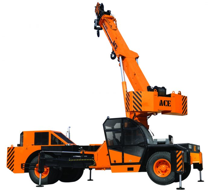 Action Construction Equipment Ltd launches NX360° SLEW CUM PICK 'N' CARRY CRANE