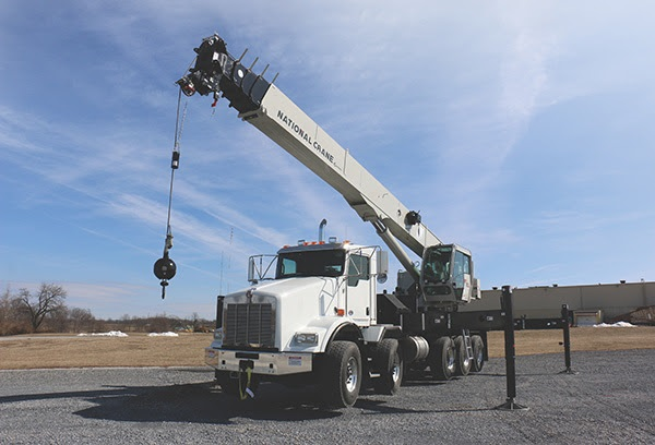 Manitowoc introduces new National Crane NBT60L boom truck