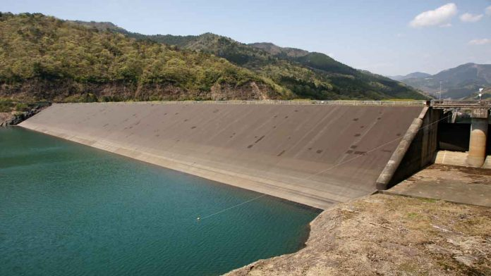 Construction works at Kavaari earth dam in Kenya 90% complete