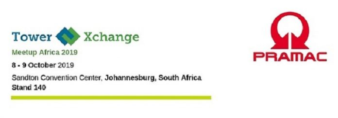Pramac to attend The Seventh Edition Of Towerxchange Meetup Africa In Johannesburg