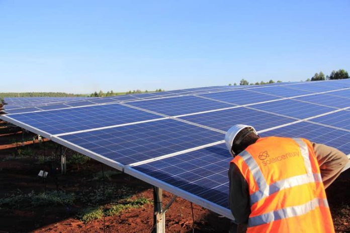 solar mini-grid project in Togo