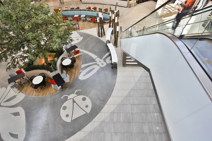 Tal Products Create Unique Floor At Greenstone Shopping Centre