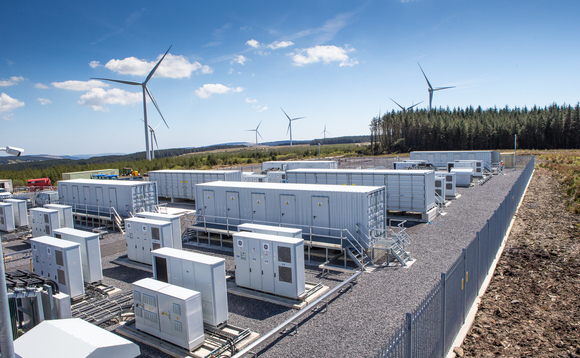 Battery storage system South Africa