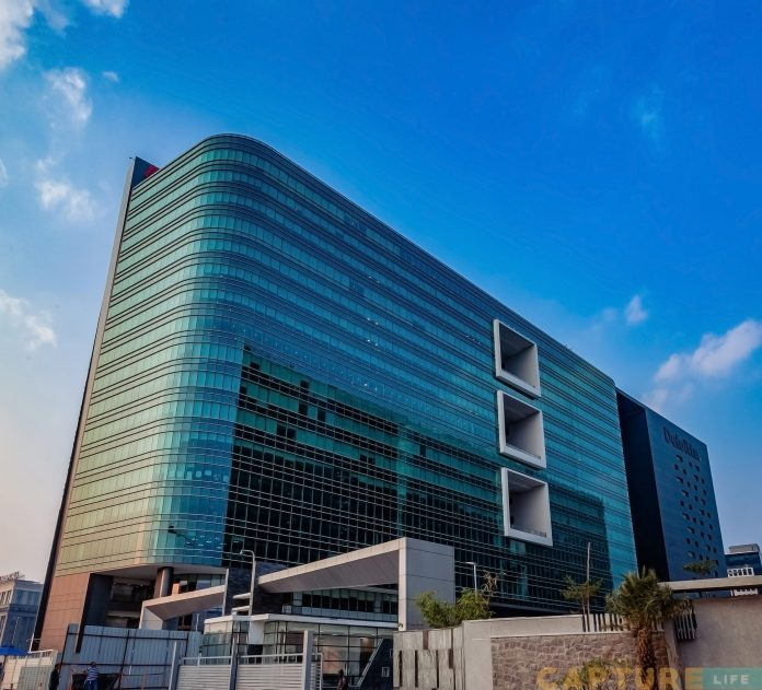 Information Technology Park at Hitec City, Hyderabad