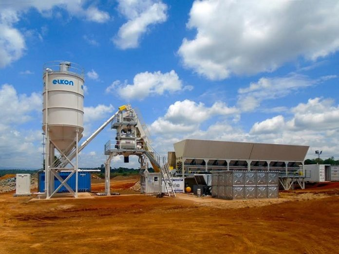 New technologies in the batching plants used in Africa