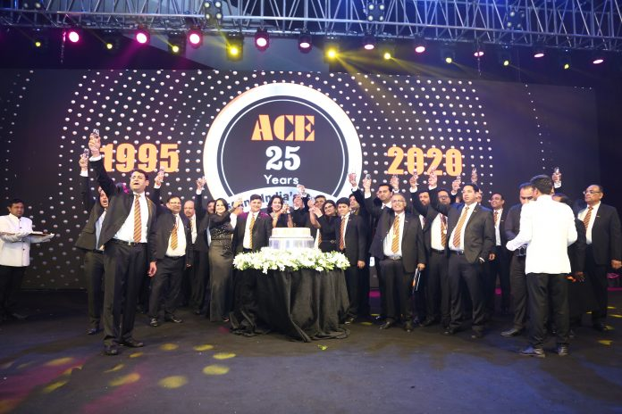 ACE- India's No. 1 Crane Brand celebrates 25 years of Lifting India's Growth